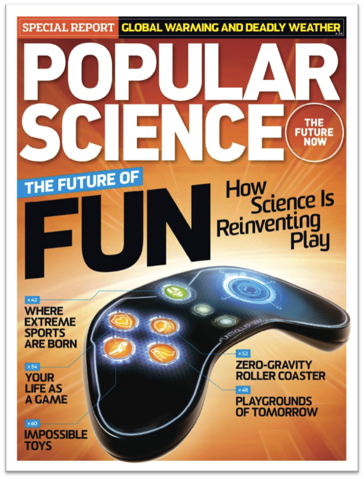 Cover Story for Popular Science