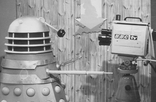 "Daleks, ever the showman, couldn't resist giving the BBC interview to spread their singular message of ""elimination""."