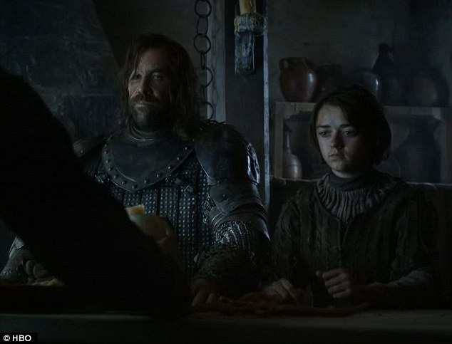 The Hound and Arya -- Game of Thrones, Two Swords