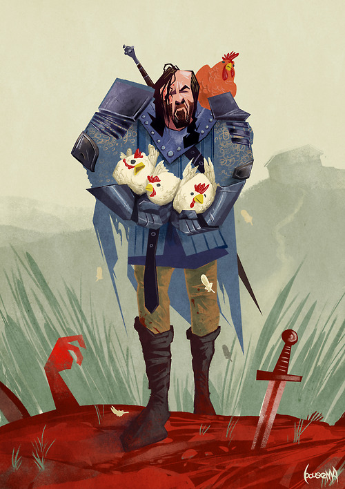 The Hound & His Chickens: Game of Thrones