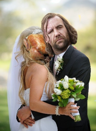 The Hound and His Chicken
