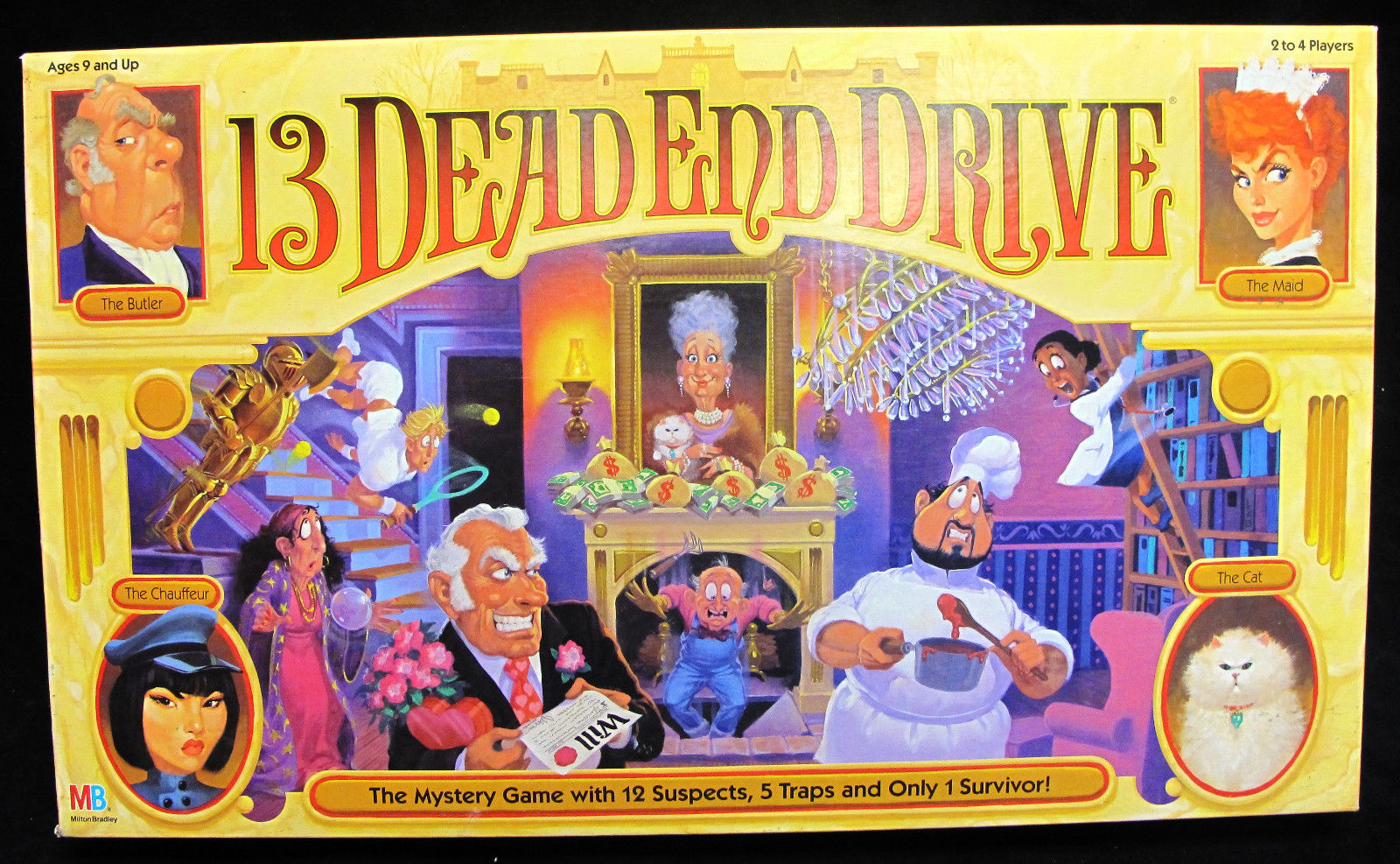 3 Dead End Drive Board Game - Museum of Curious Toys and GAmes