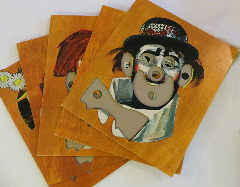 Museum of Unsettling Toys & Games: Funny Face Board Game