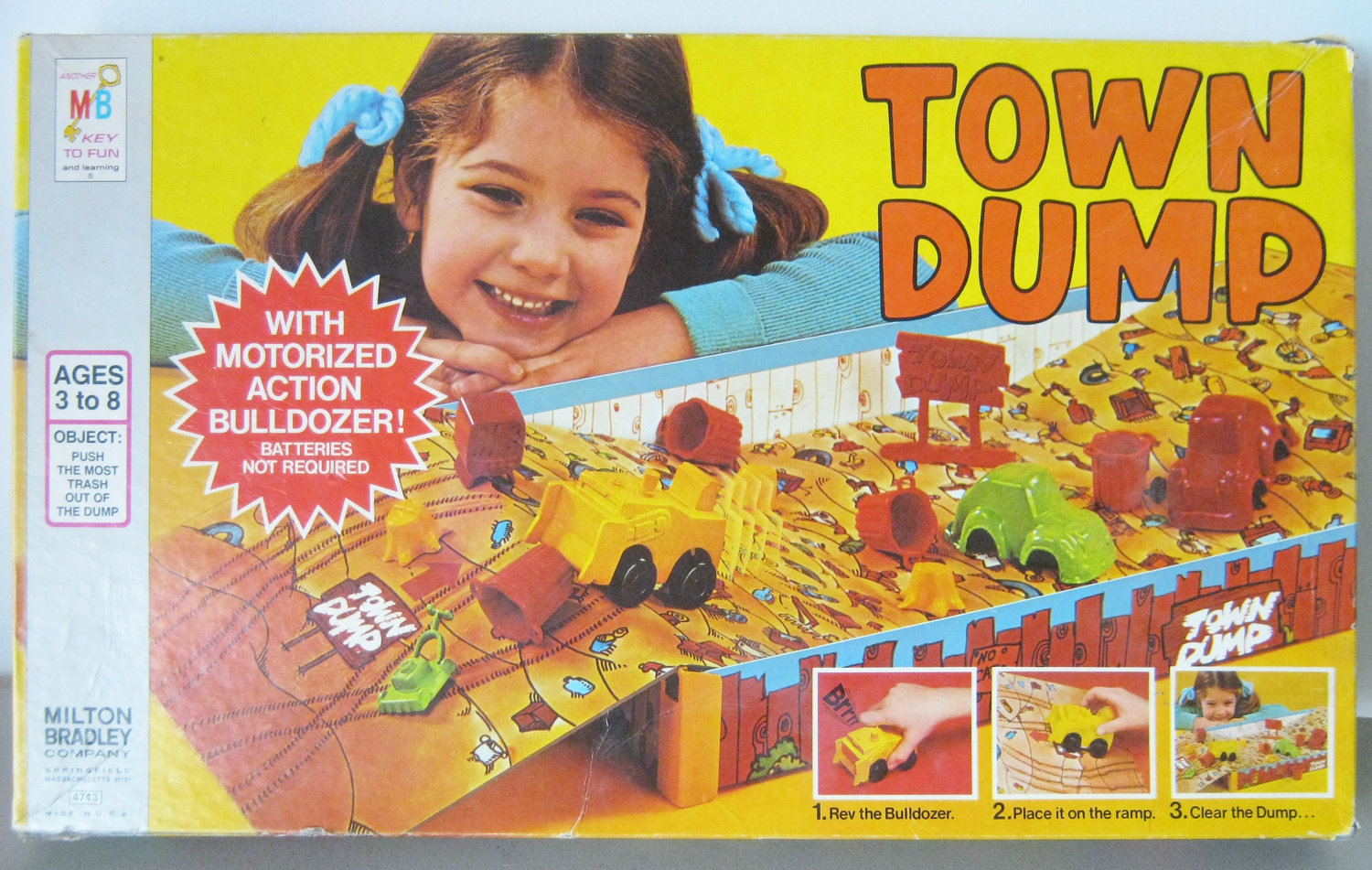 The Town Dump Board Game