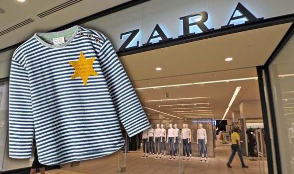 High-street store Zara have removed the child's T-shirt from sale [GETTY/TWITTER]