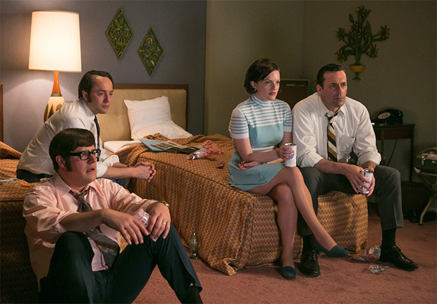 "Mad Men - Season 7, Episode 7 ' :Waterloo"" -- an example of a good old fashioned watercooler moment."