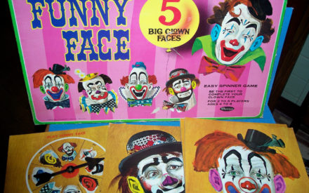 """Funny Face"" Board Game"