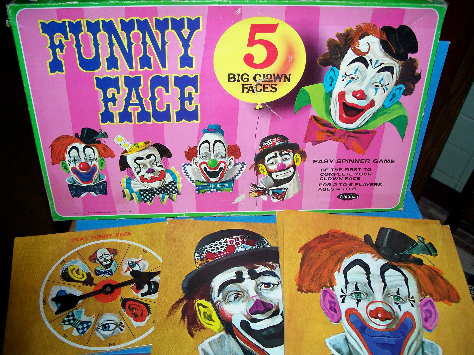Museum of Curious Toys & Games: The (Not So) Funny Face Board Game